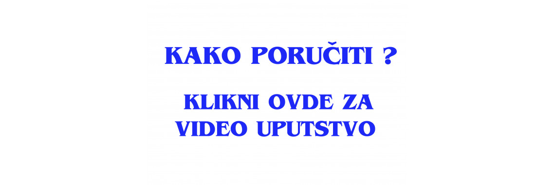 VIDEO UPUTSTVO